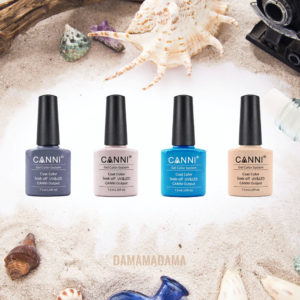 Сет гел лак – Canni – Beach + Подарък