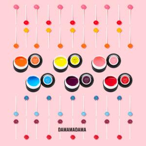 Сет гелови бои – Canni – Lolipop