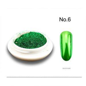 Метален огледален пигмент за нокти - 06