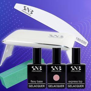 Комплект гел лак SNB с Mini UV/LED уредба