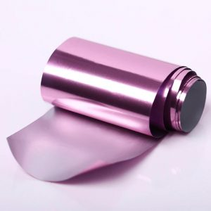 Фолио за декорация на нокти - Розово
